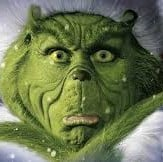 Jim Carrey is the grinch