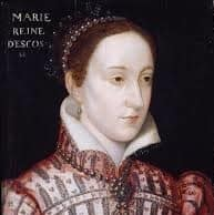 historical painting of the real mary queen of scots