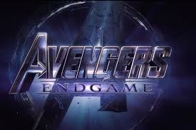 avengers endgame logo with the A