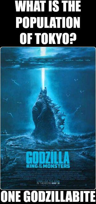 MovieMeme -- Godzilla