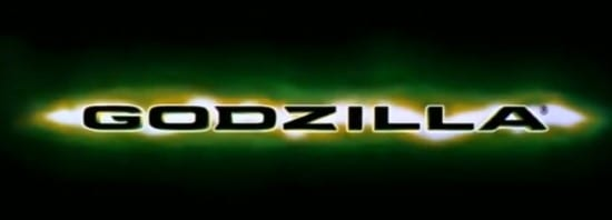 1998 godzilla title card