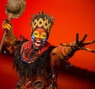 rafiki in the lion king broadway musical