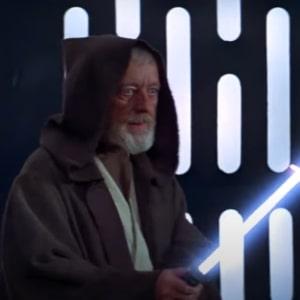 Obi Wan Kenobi lightsaber duel with Vader
