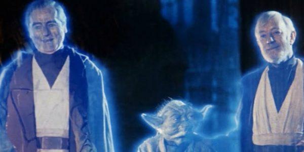 star wars force ghosts anakin yoda obi-wan