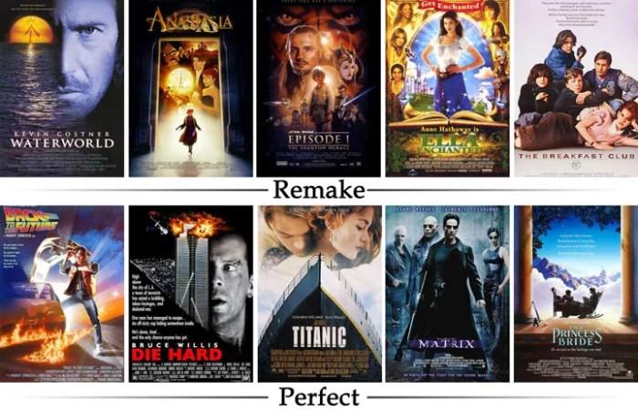 Remake vs Perfect movies