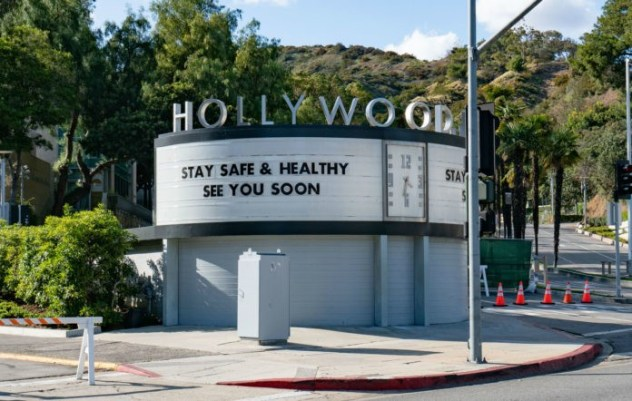 hollywood-stay-healthy-sign