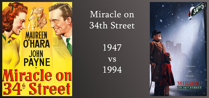 miracle on 34th street-1947-vs-1994