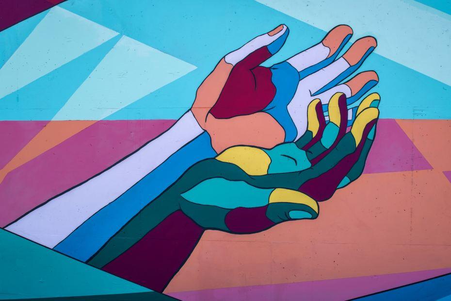 character hand wallpaper