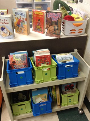 book bins!