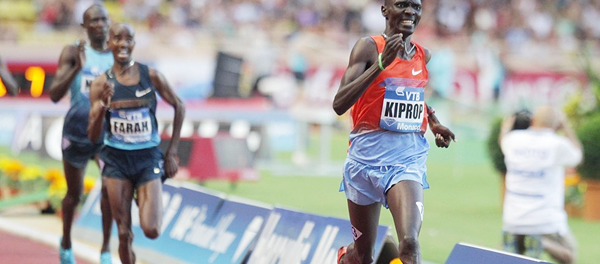 Mo Farah and Asbel Kiprop could once more be chasing the 3:26.00 WR mark