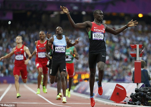 David Rudisha was unstoppable at the London 2012 Olympics