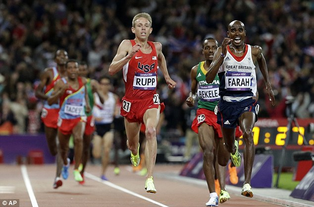 Farah would take Gold in 2012