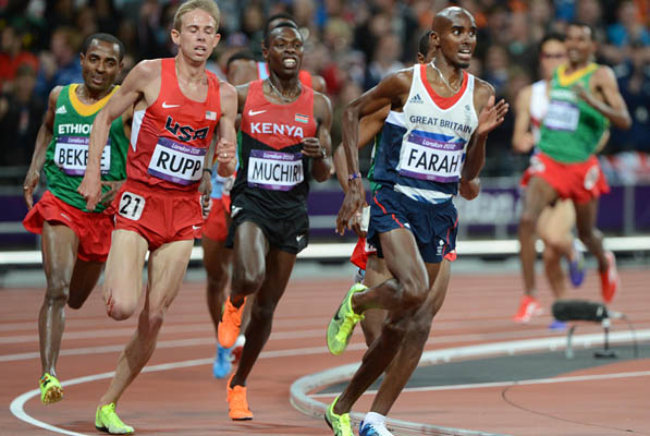 Farah will look to emulate his 2012 success
