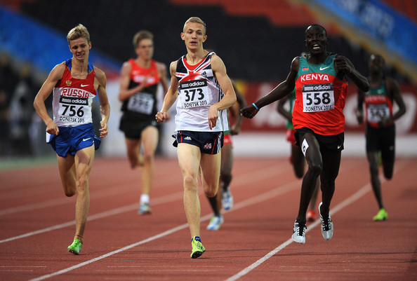 Langford won bronze at the IAAF World Youth Championships