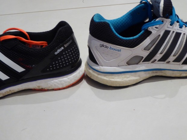 Heel drop comparison to the Supernova Glide Boost