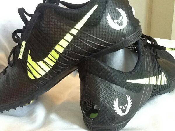 Limited Edition Nike Spikes - Run Reporter