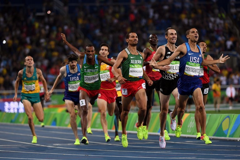 Centrowitz follows in father's Olympic footsteps