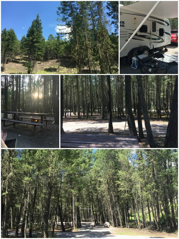 Radium June 2015 - scenes from the Campground