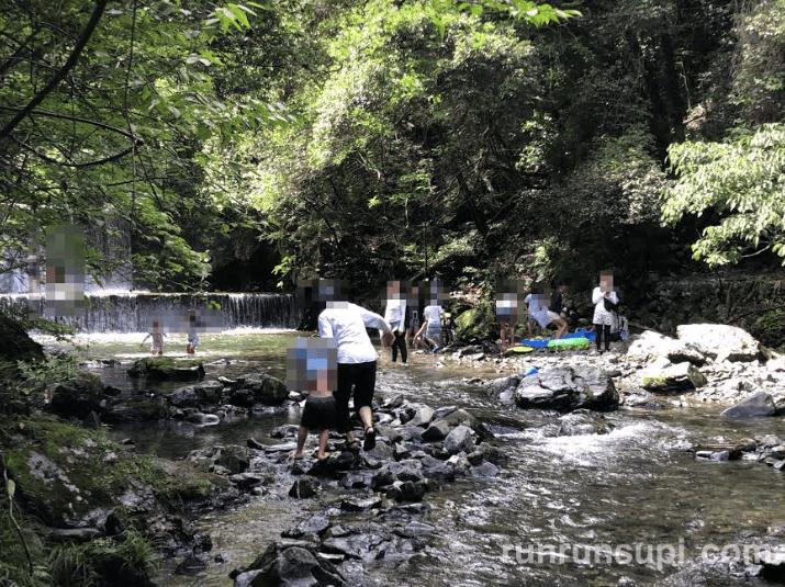 多度峡天然プール