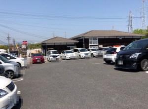 やっぱりステーキ桑名の駐車場