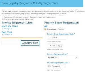 Loyalty Program Setup
