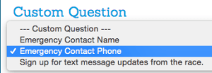 Turn an existing Custom Question into a Standard Questions