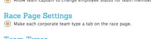 Corporate Team Labels