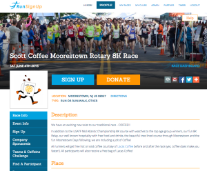 Race Website Theme