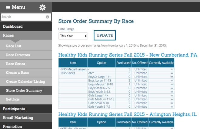 Partner Store Report