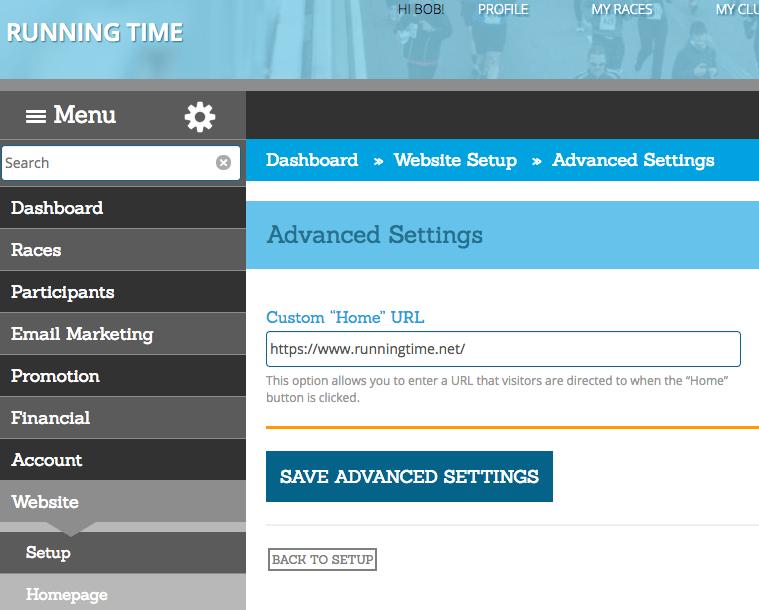 Partner Website Setup