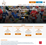 Race Website New Template Beta