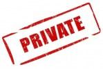 Private Event Registration Option