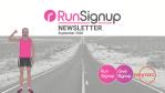 RunSignup September 2020 Newsletter