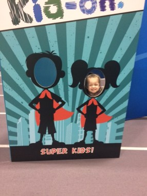 DT had fun at the expo, too! Lots of opportunities for kid-fun.