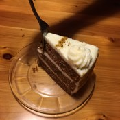 Desert... my favorite... Carrot Cake