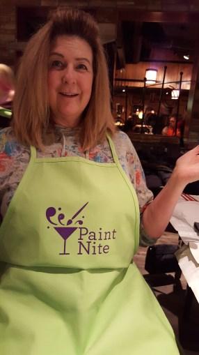 Jody in her snazzy apron