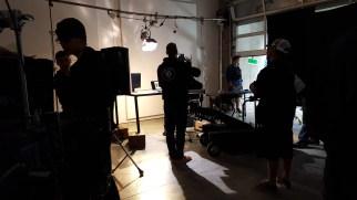 On set - Justice Unleashed