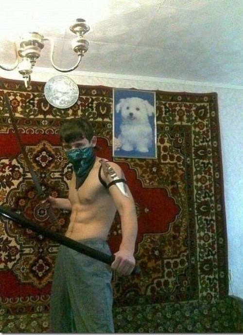 Russian Dating Profile Tough Guy