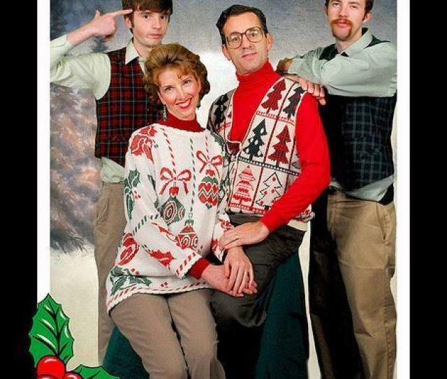 Funny Family Christmas Photos