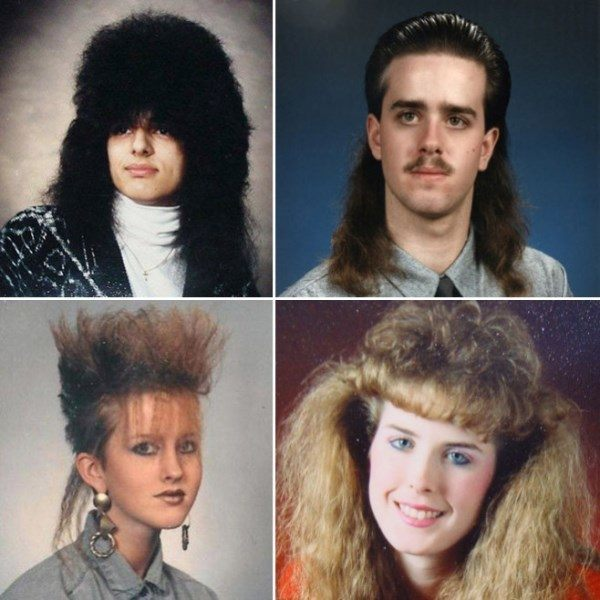 80s Yearbook Pictures
