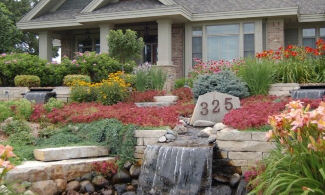 25 Rock Garden Designs Landscaping Ideas For Front Yard Home And Gardens