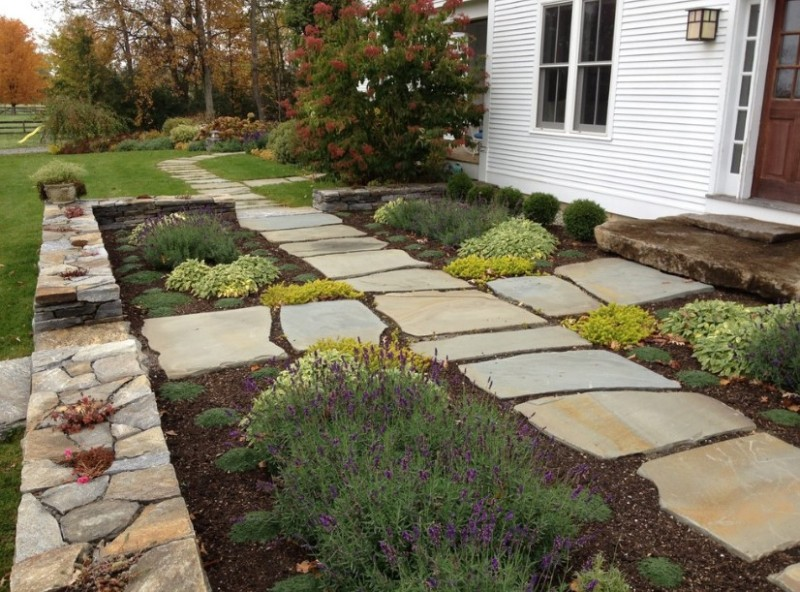 Smooth Landscaping Rocks