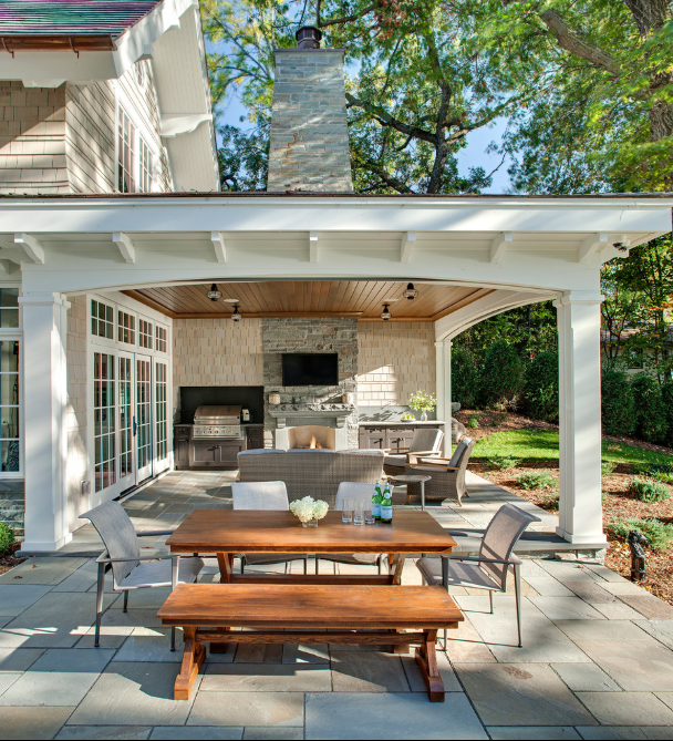 75+ Best Covered Patio Ideas & Designs for 2018 - Home and ... on Patio Top Ideas id=20653