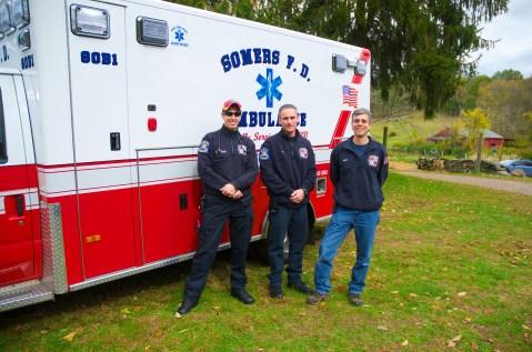 Somers VFD EMS crew