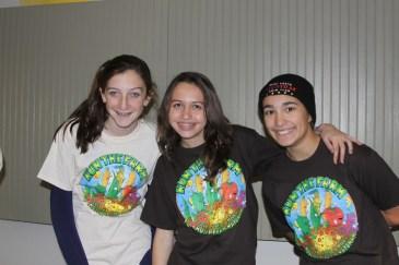 Emily Casper, Michelle Cope, and