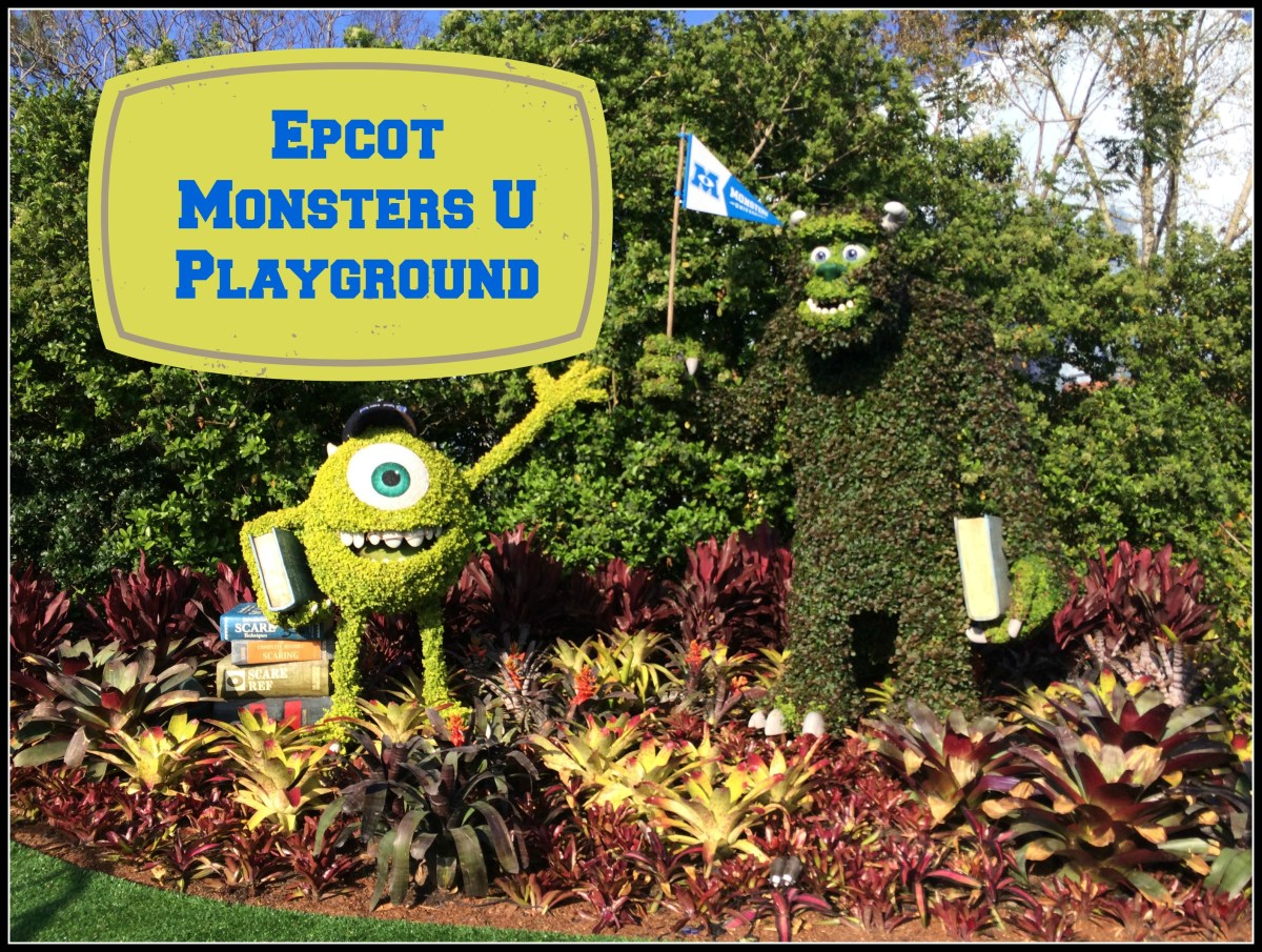 Monsters U Playground at Epcot