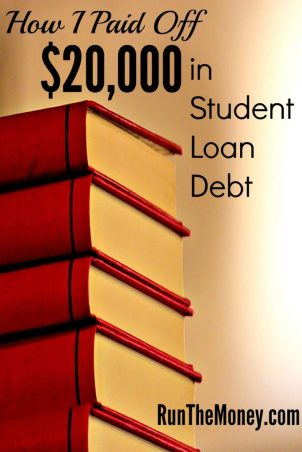 paid off student loan debt