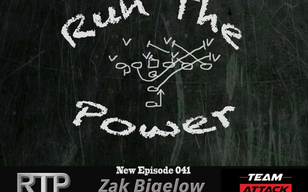 """Zak Bigelow – Head Coach Fossil Ridge HS, Colorado EP 041"" Run The Power : A Football Coach's Podcast"