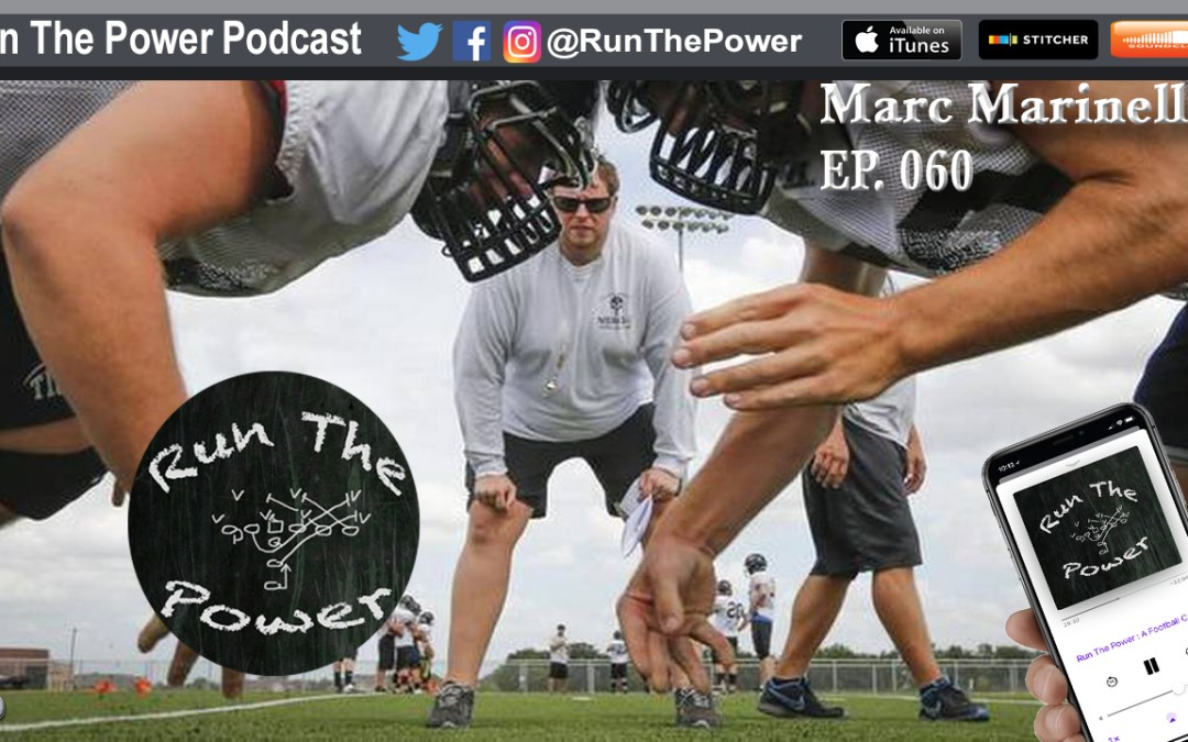 """Marc Marinelli – Running Flexbone & Having an Attacking Defense EP 060"" Run The Power : A Football Coach's Podcast"