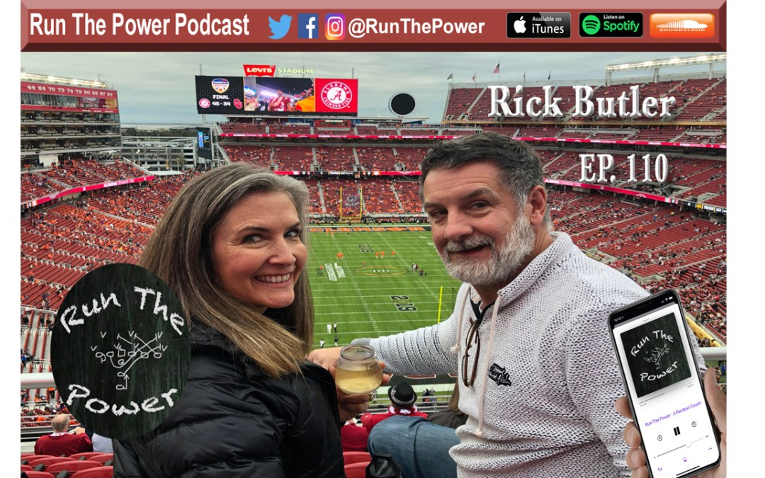"""Rick Butler – Adding RPO's to 7on7 with Surface to Air Ep. 110"" Run The Power : A Football Coach's Podcast"
